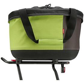 KlickFix Shopper Alingo GT Panier de courses pour Racktime, green/brown